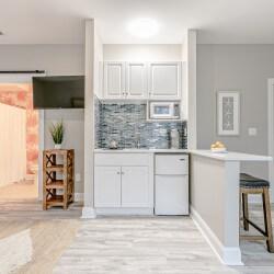 Myrtle Beach Gold Condo Vacation Rental kitchen 1 scaled
