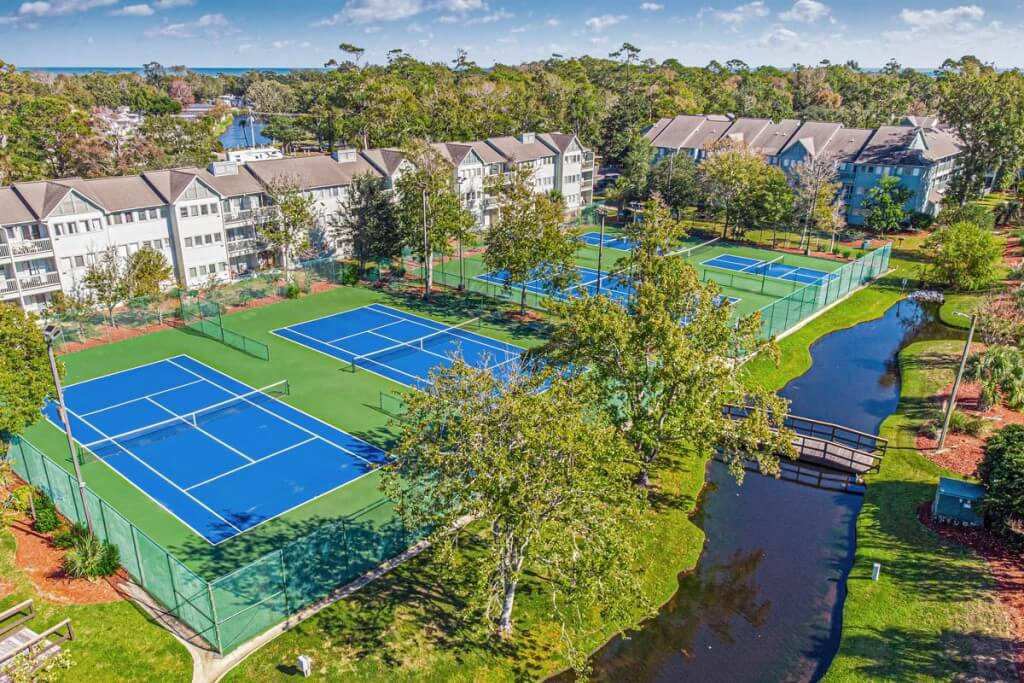 MBR Tennis Courts NEW BLUE