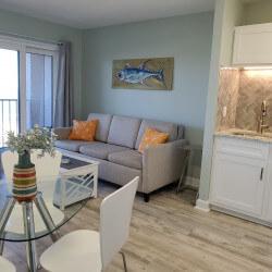 Myrtle Beach Oceanfront Vacation Rental Renaissance Tower Resort Condo Long Short Term