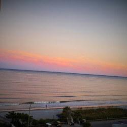 Balcony Sunset scaled